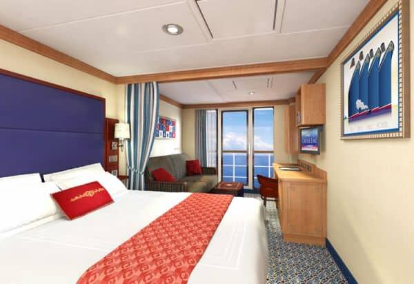 Disneydreamcruisestaterooms for Cruise ship balcony room