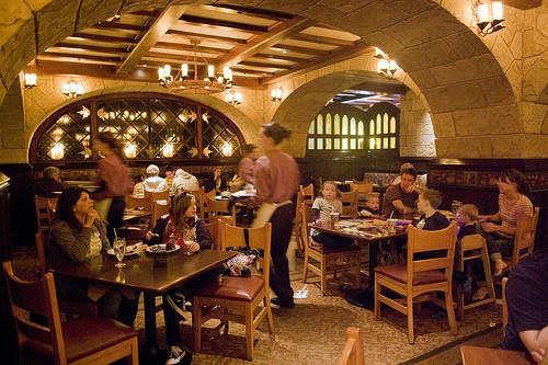 Epcot Le Cellier Steakhouse Restaurant