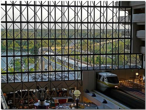 Disneycontemporaryresort for Modern contemporary hotel