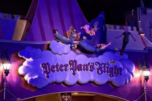 disney magic kingdom peter pans flight