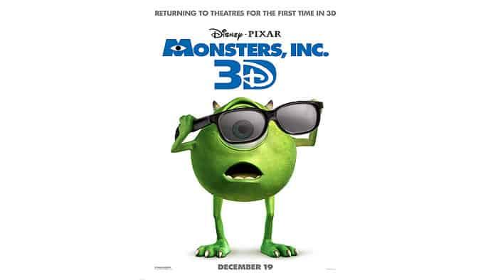 Monsters Inc. in 3D 2001 Full Length Movie
