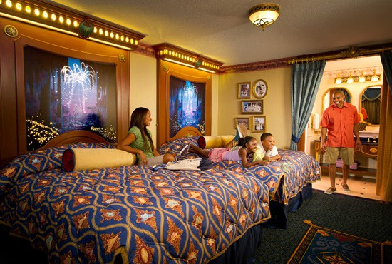 Disney Royal Rooms at Port Orleans Riverside Hotel and Resort ...