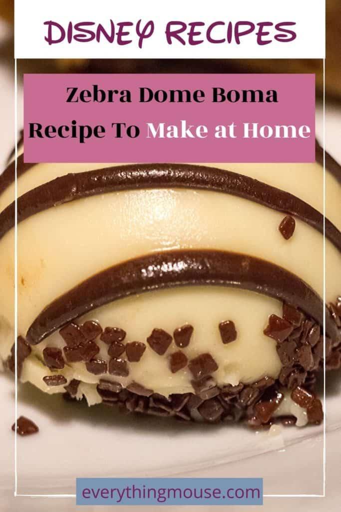 Disney Animal Kingdom Boma  Zebra Dome Recipe