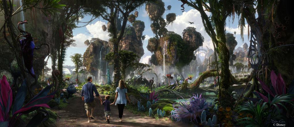 Disney Avatar Land