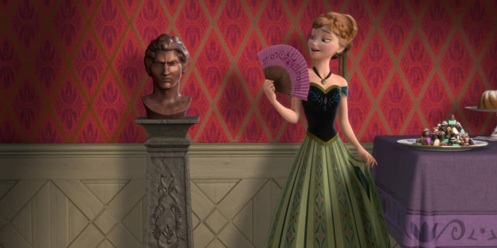 Disney Frozen Easter Eggs     Did You Spot Them Anna Frozen Coronation Day