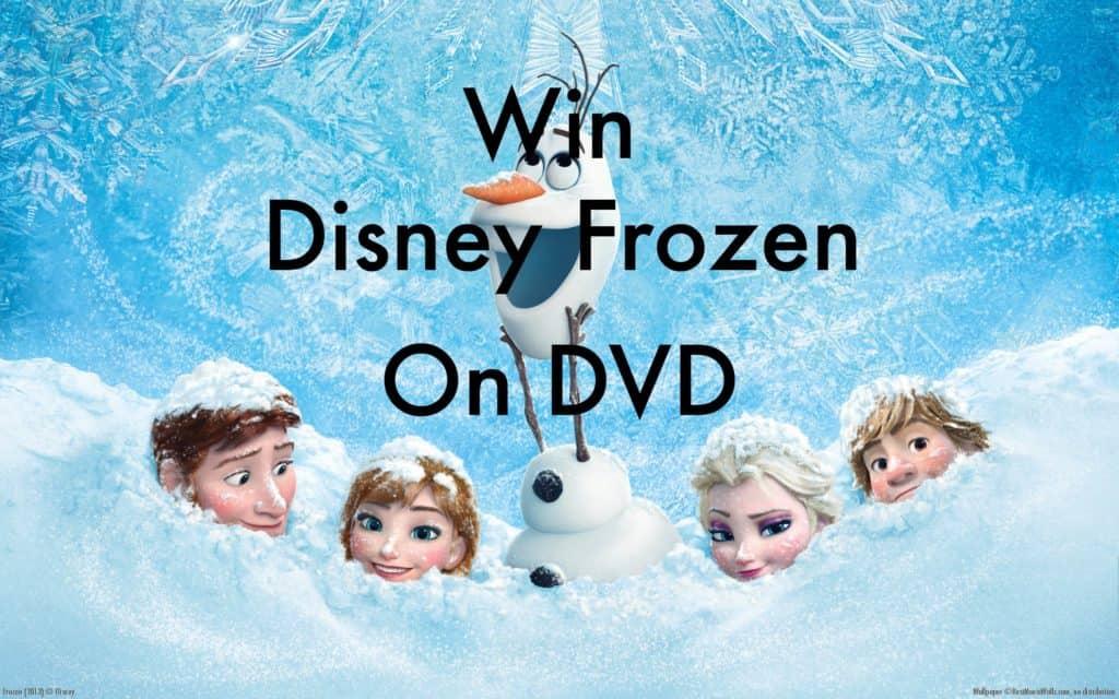 Win Frozen DVD