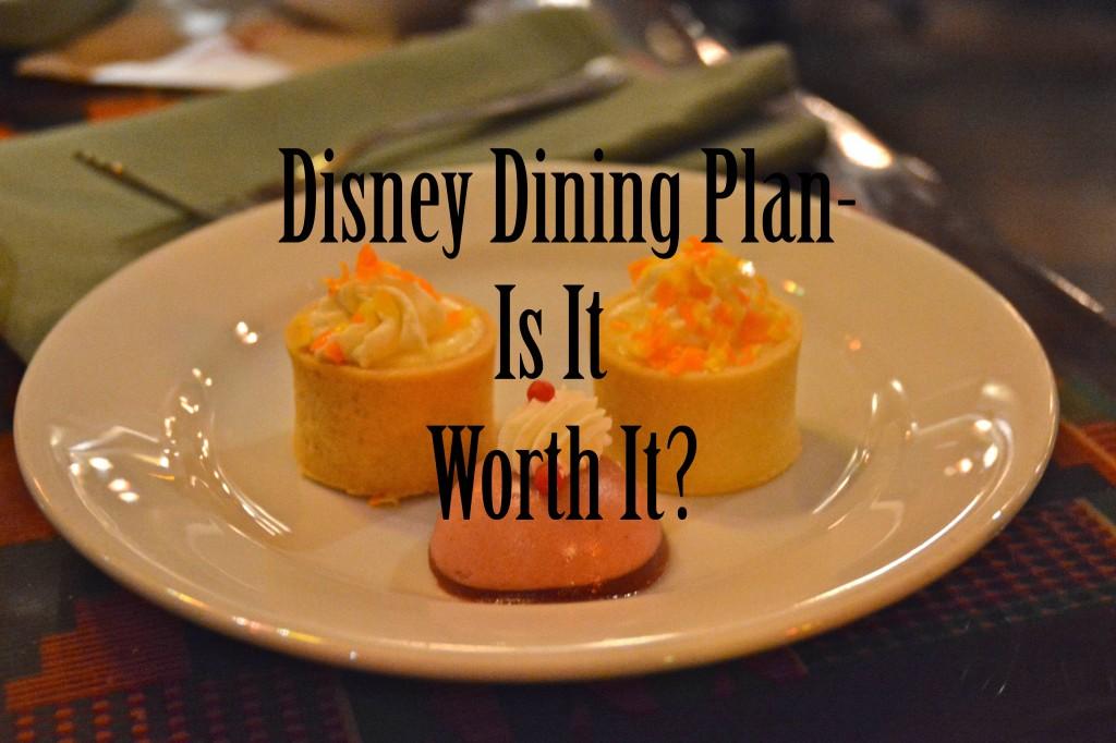 Disney Dining Plan