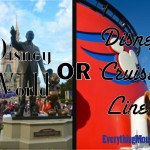 Disney World or Disney Cruise Line
