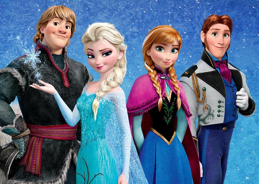 Frozen Charaktere