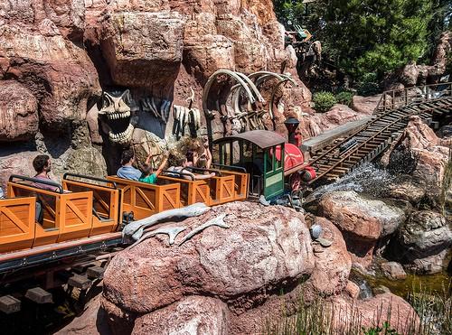 Disneyland Big Thunder Mountain