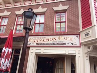 Disneyland Carnation Cafe