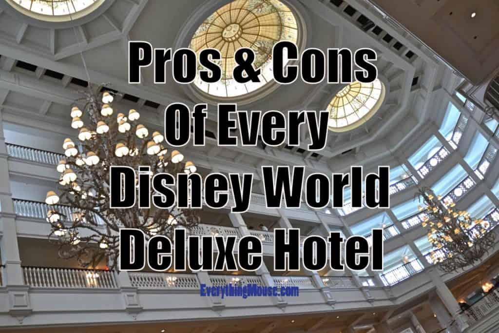 Disney world deluxe hotel for World hotels deluxe