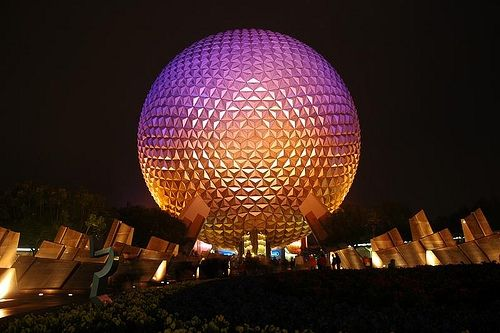 Disney World Spaceship Earth