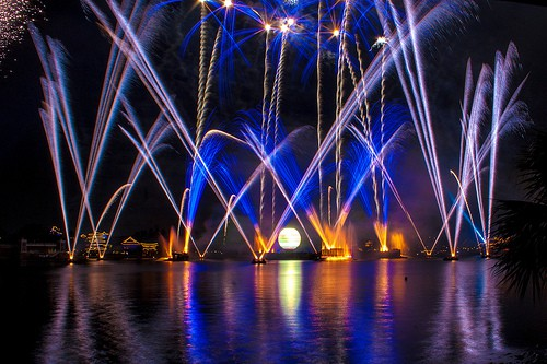 Epcot IllumiNations Sparkling Dessert Party