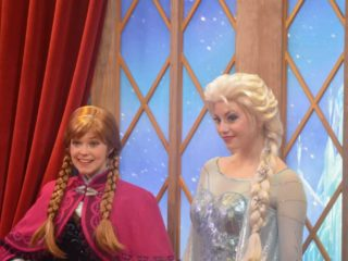 how to find anna and elsa in disney world