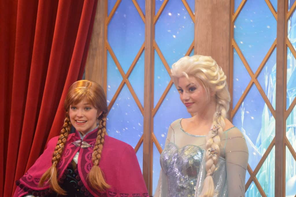 How To Find Anna and Elsa at Walt Disney World