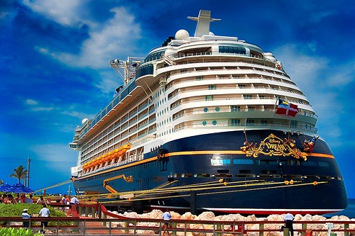 Disney Cruise Upgrade at Port