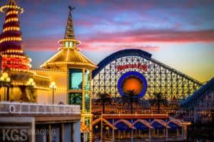 California Screamin At Disney's California Adventure Park
