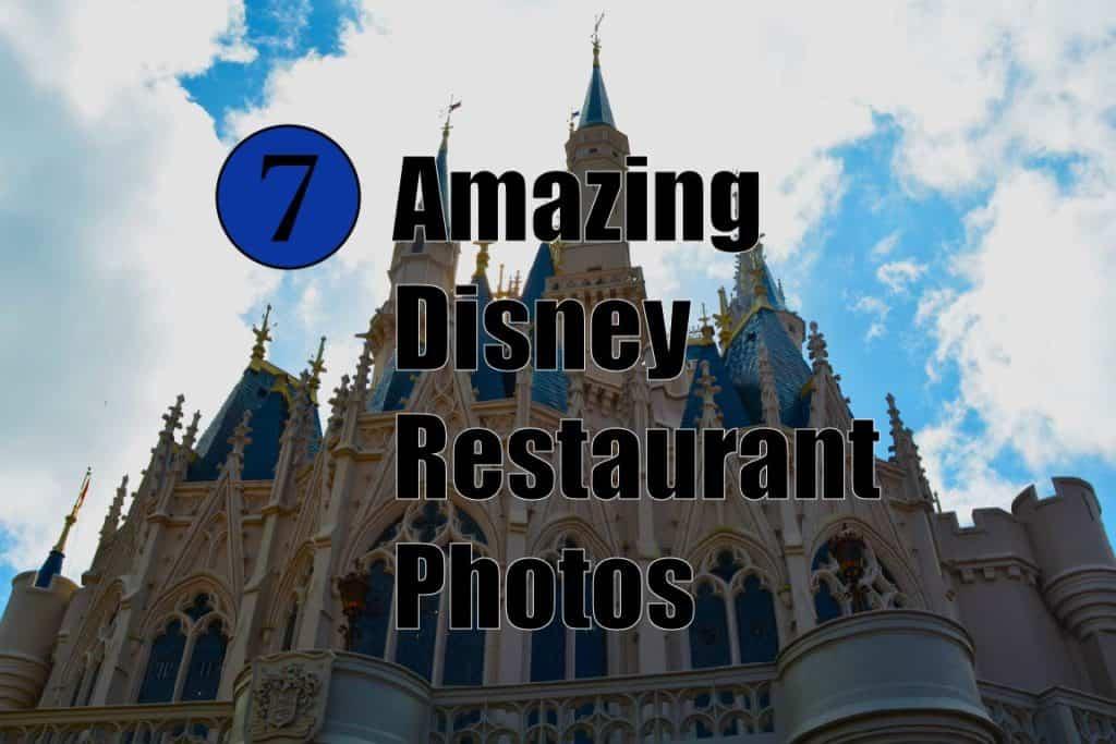 Disney Restaurant Photos