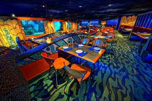 Epcot Coral Reef Restaurant