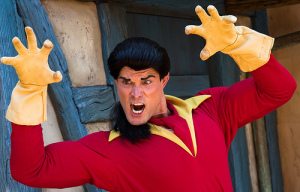 Disney World Gaston Viral Video