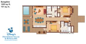 Disney Polynesian Resort Bora Bora Floor Plan