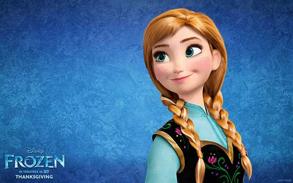 Learn How To Draw Disney's Frozen Anna