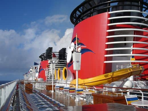 Disney cruise sailing from Galveston Texas