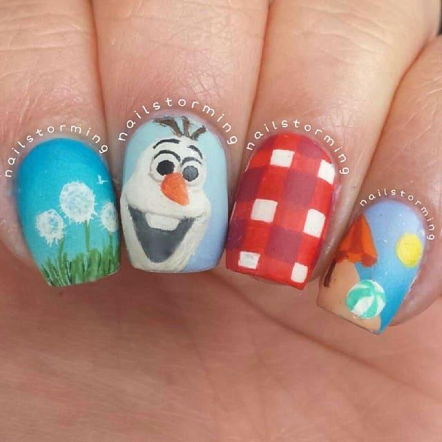 Disney Frozen Nail Art IdeasTop 10 Disney Frozen Nail Art Ideas ...
