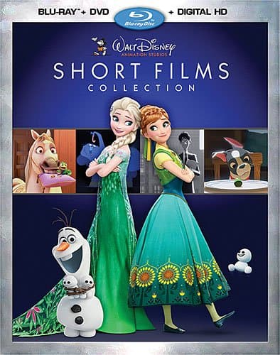 Walt Disney Animation Studios Short Films Collection DVD