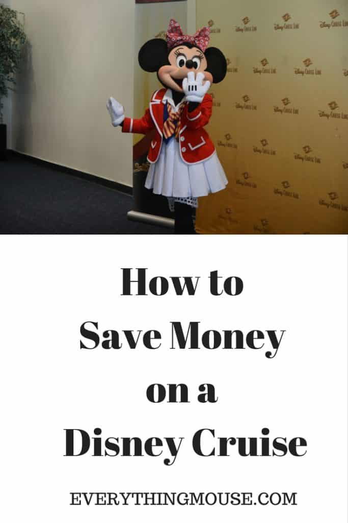 How to Save Money on Disney Cruises