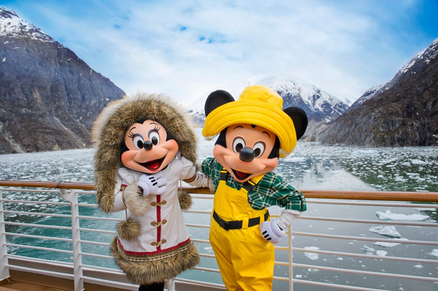 Disney Cruise Alaska Dog Sledding