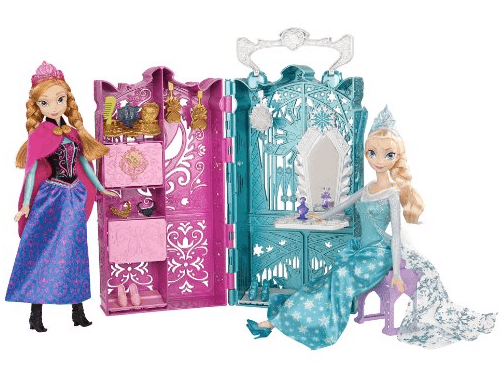disney frozen dual vanity playset