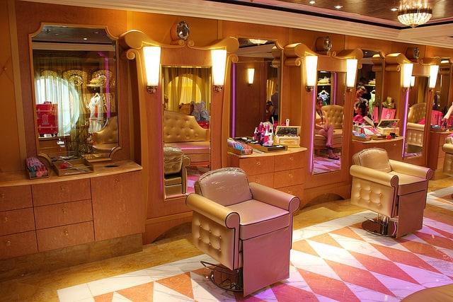 Disney Fantasy Bibbidi Bobbidi Boutique Packages