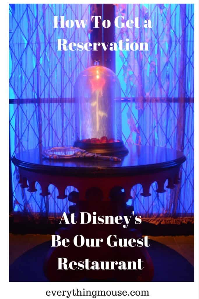 How To Get a Reservation at Be Our Guest