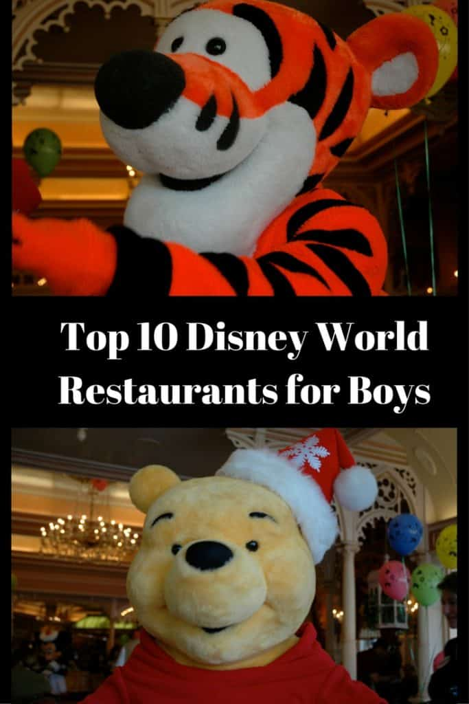 Top 10 Disney World Restaurants for Boys