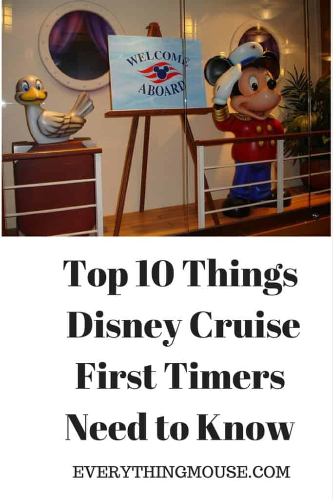 Top 10 Things Disney Cruise First Timers Need to Know