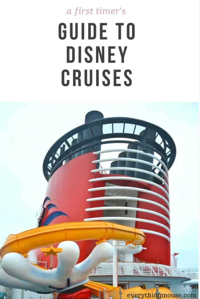 disney cruise first time