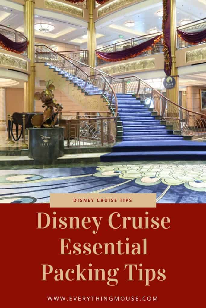 Disney Cruise Packing Tips