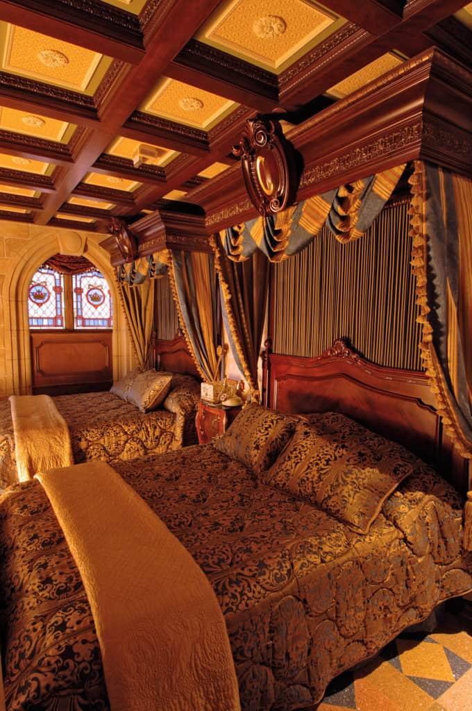 cinderellacastlebedroom