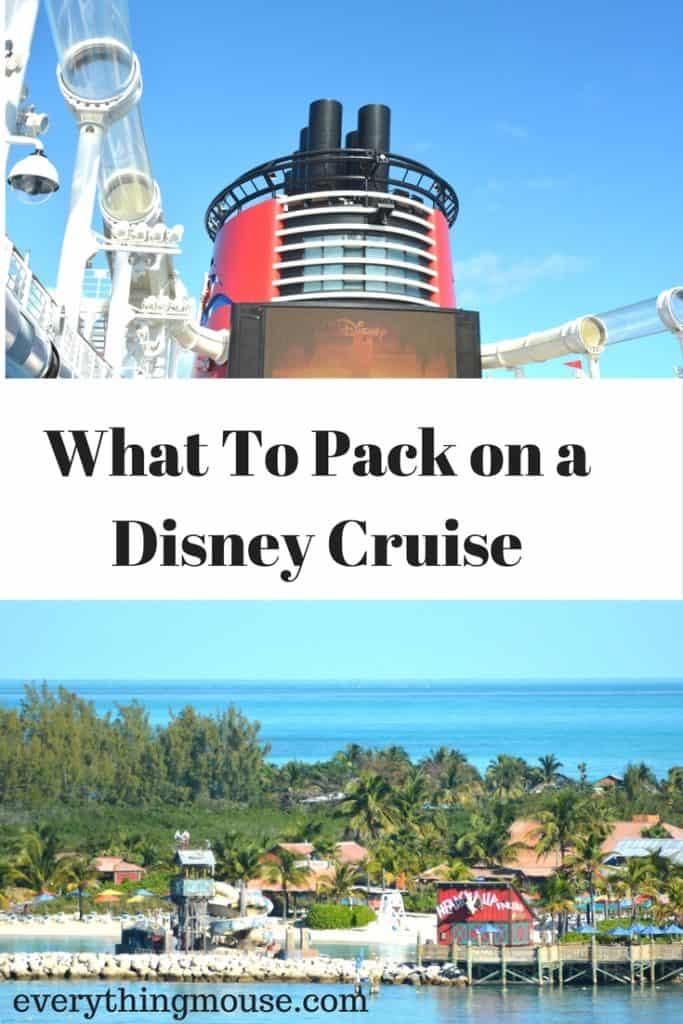 disneycruisepackinglist