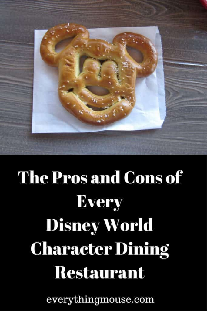 The Pros and Cons of All Disney World Character Dining Restaurant