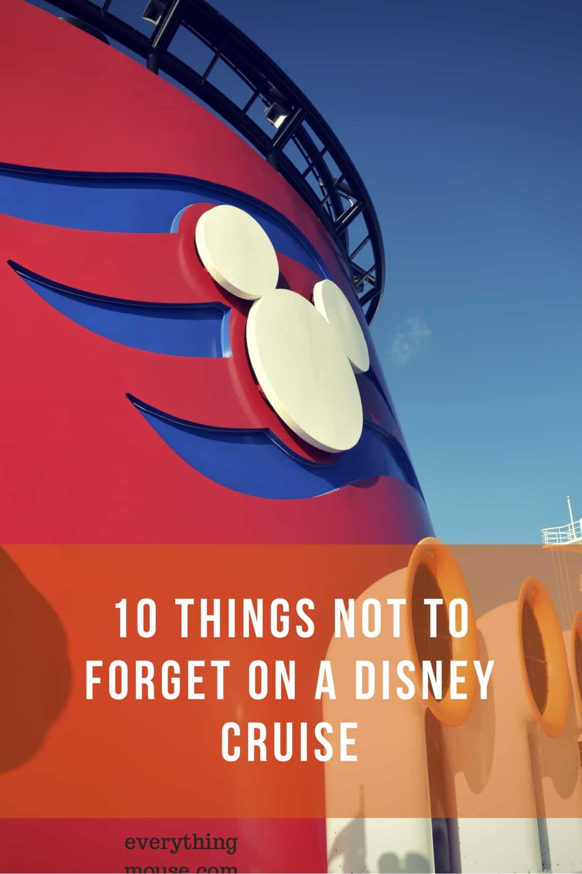 Disneycruisepacking