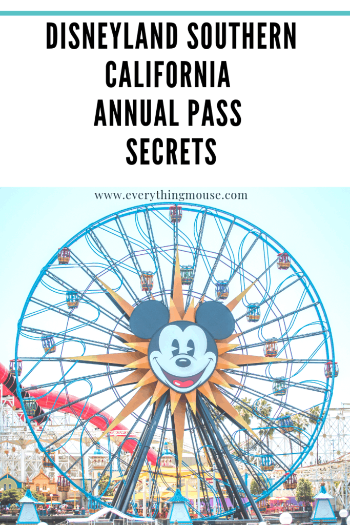 purchase disneyland annual pass page