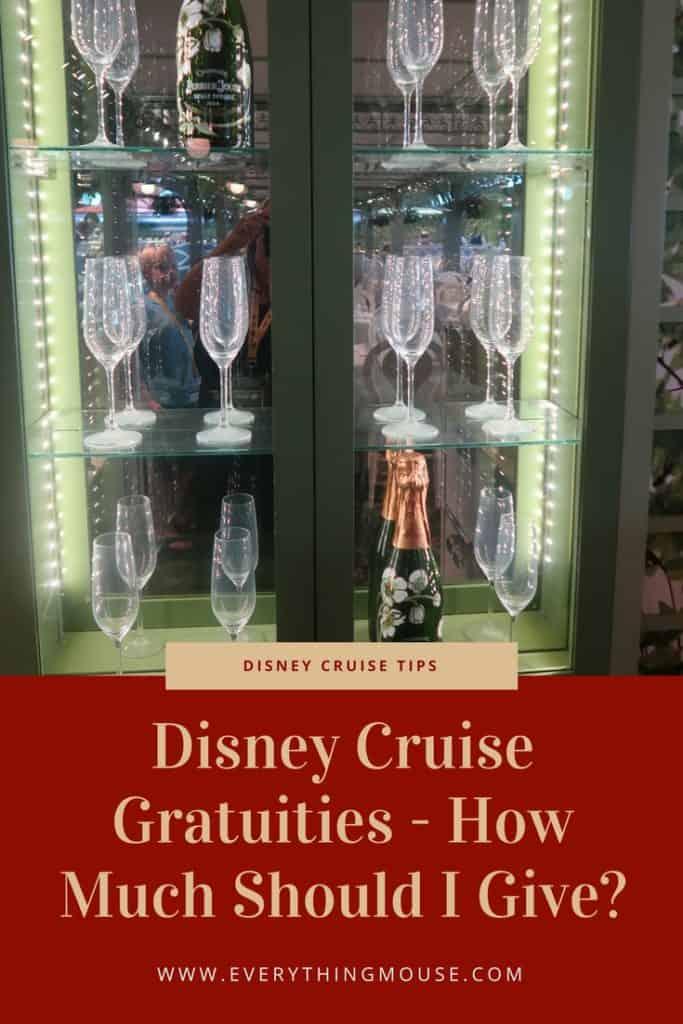 DisneyCruiseGratuities