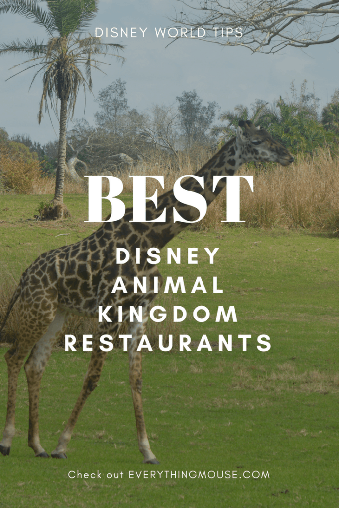 bestdisneyanimalkingdomrestaurants