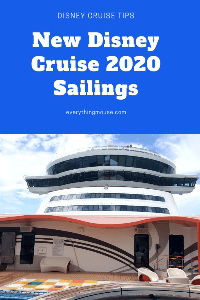 Disney Cruise Line New Sailings Early 2020 Everythingmouse Guide To Disney