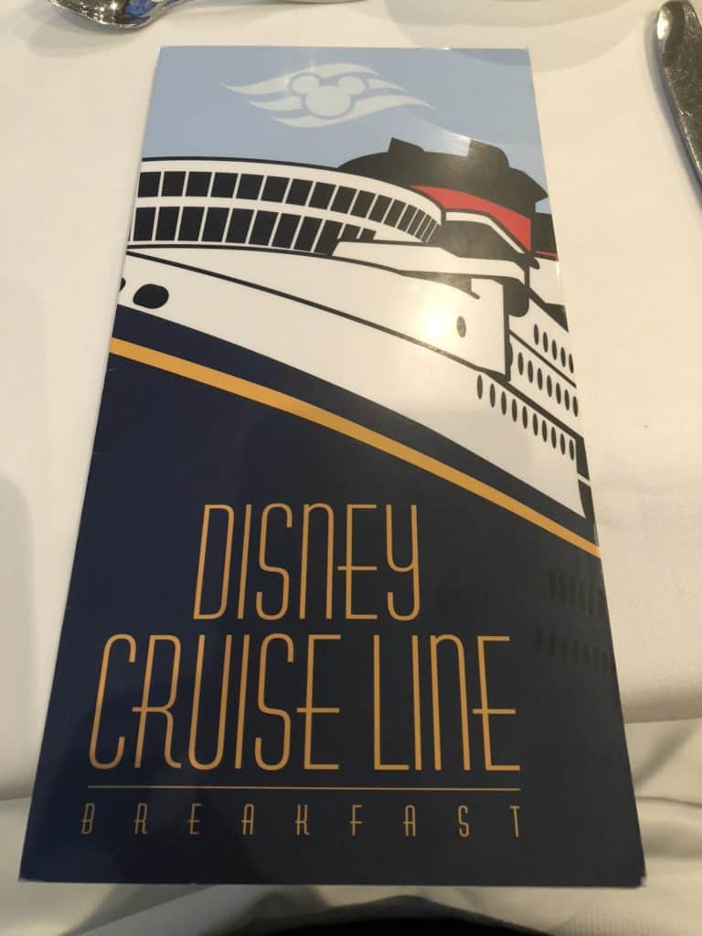 Disney Cruise Main Dining Time