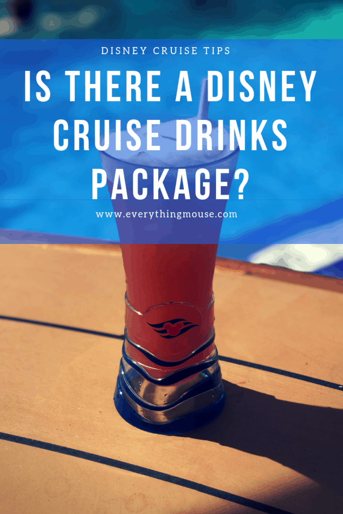 Is There a Disney Cruise Drink Package? - EverythingMouse