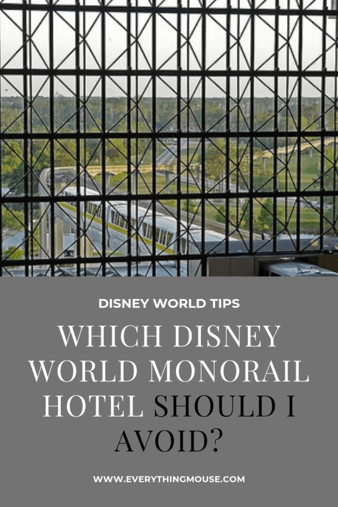 Disney Monorail Hotels - Which Should You Avoid? - EverythingMouse ...